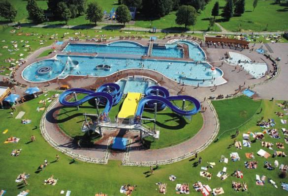 Aquapark olešná frýdek místek letní aquapark krytý bazén vodní